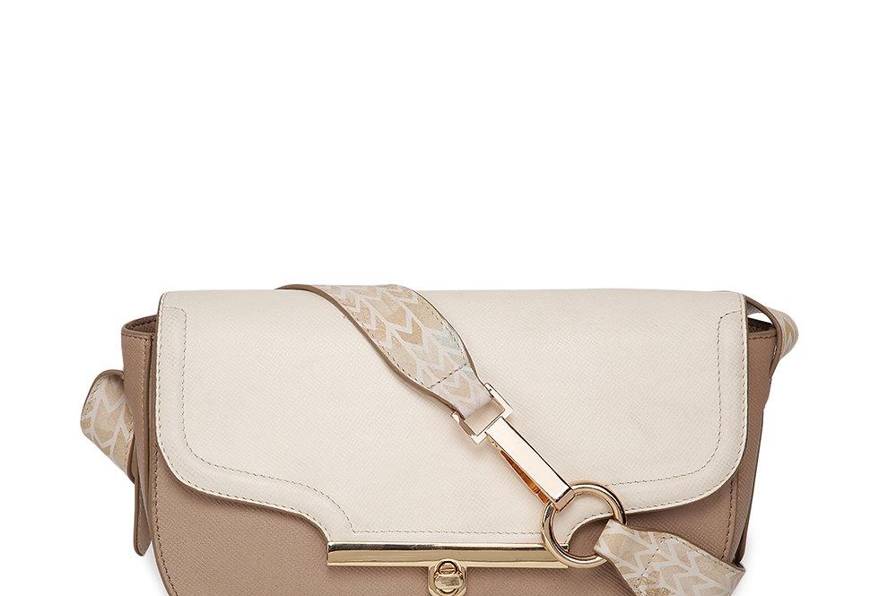 Soft print Saddle bag