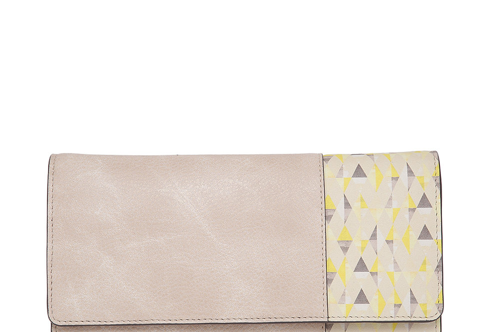 Soft Graphic Print Wallet