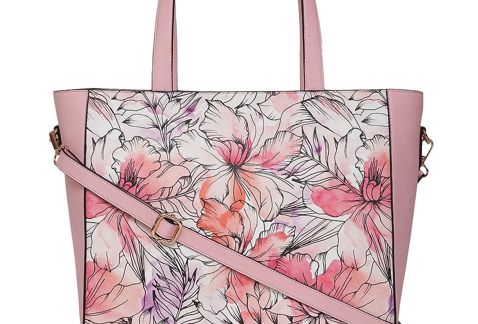 Fatty Flower tote bag