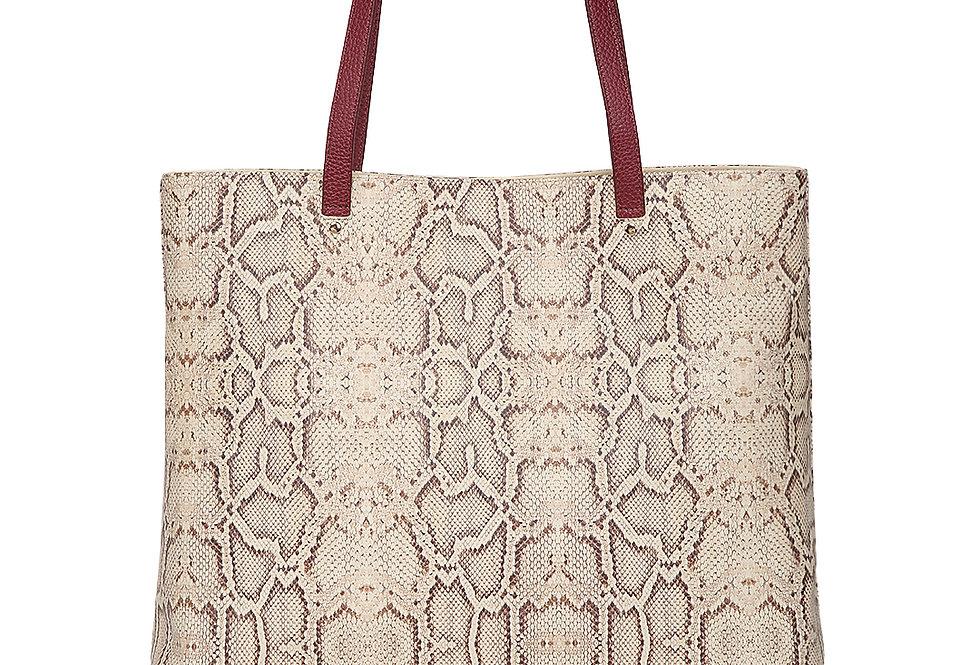 Snake Texture Tote Bag