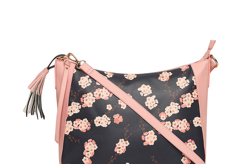 Floral Tunes Hobo