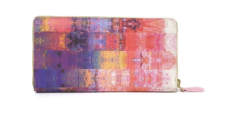 Colourful Life Zip Around Wallet
