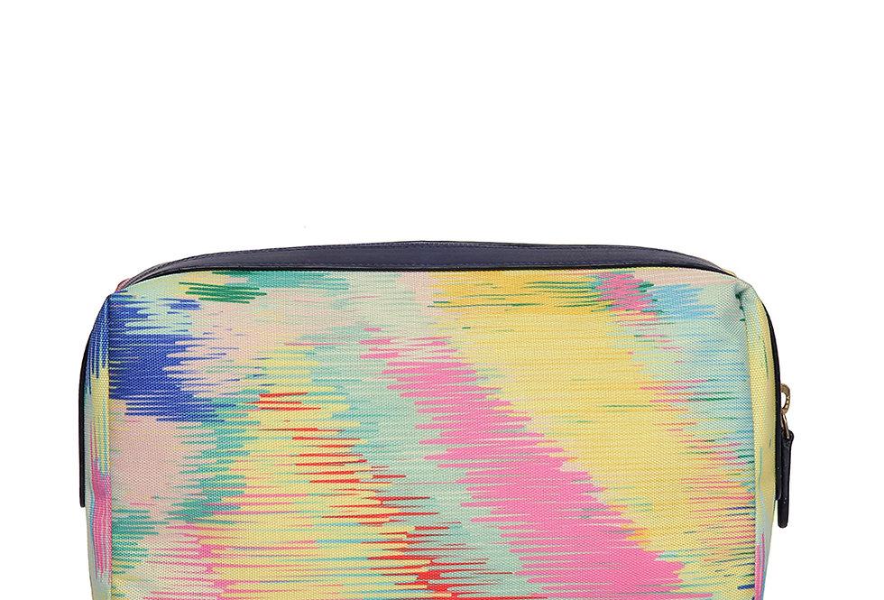 illusion strip Wash Bag