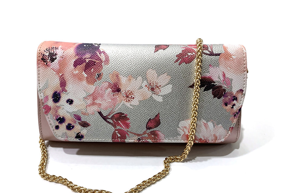 Japanese Floral Clutch