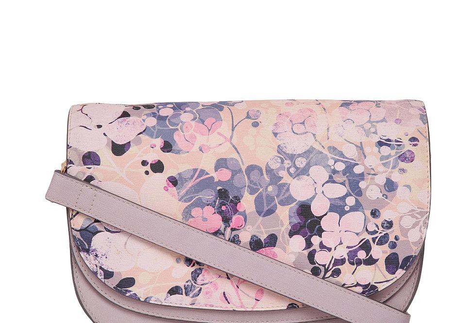 Magic Flower Print Saddle bag