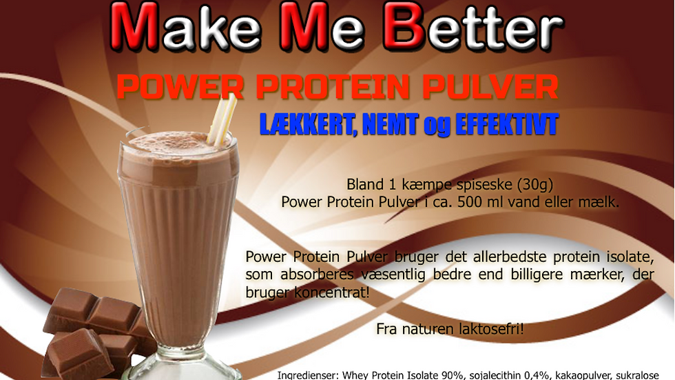 Power Protein Pulver