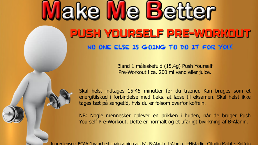 Push Yourself Pre-Workout