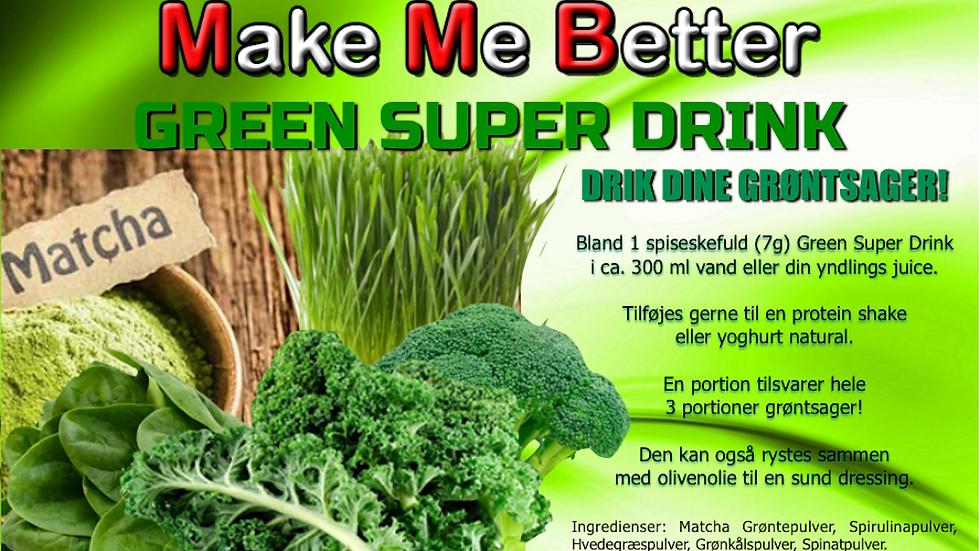 Green Super Drink