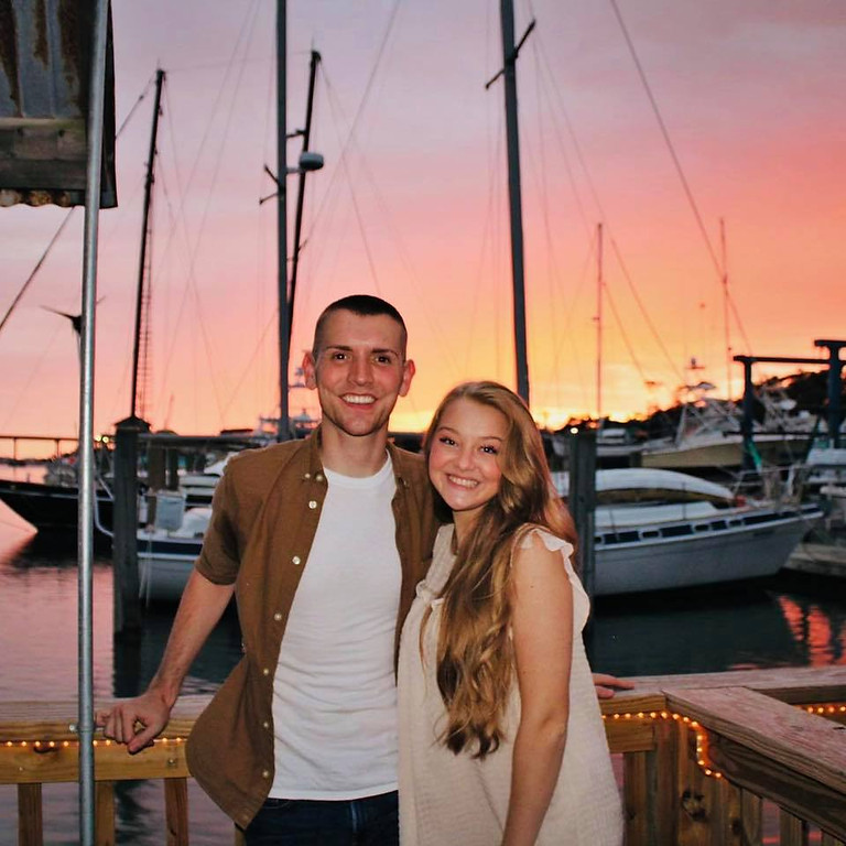 Dustin Chapman & Ryleigh Madison at Inlet View Bar & Grill