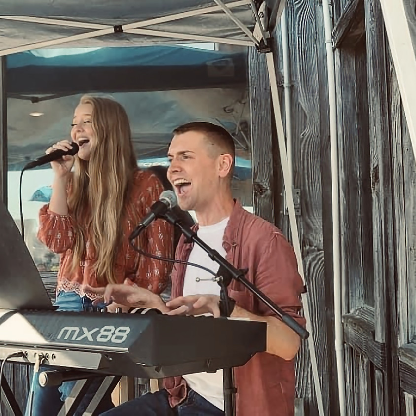 Dustin Chapman & Ryleigh Madison at Time Out Sports Grill