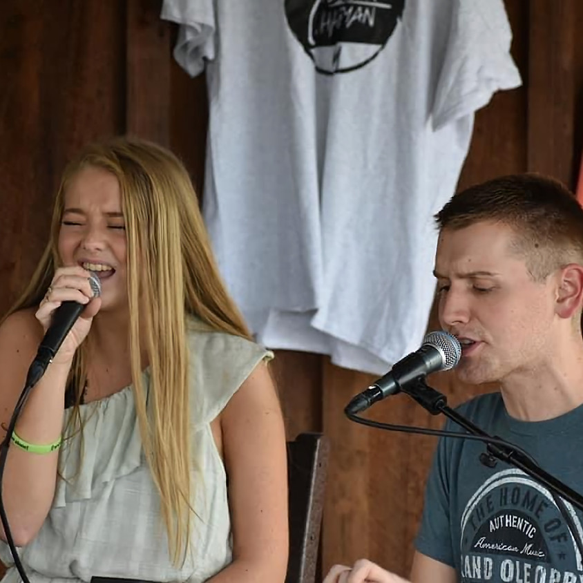 Dustin Chapman and Ryleigh Madison at Belleau Wood Brewing Company