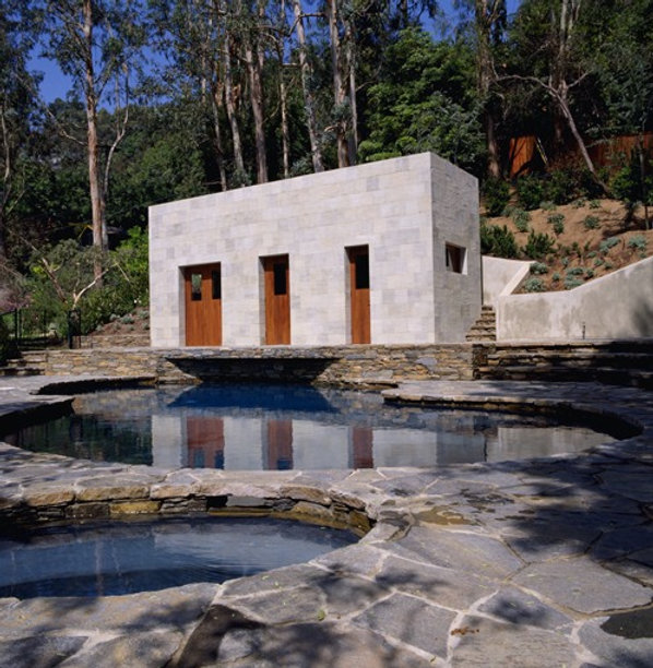 Narduli studio, Poolhouse, Mandeville Canyon, Data sculpture, architecture, ConvergenceLA, Metropolis
