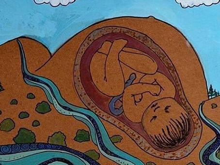 Mattone dopo mattone, la salute si costruisce in gravidanza. Un'ostetrica muratrice.