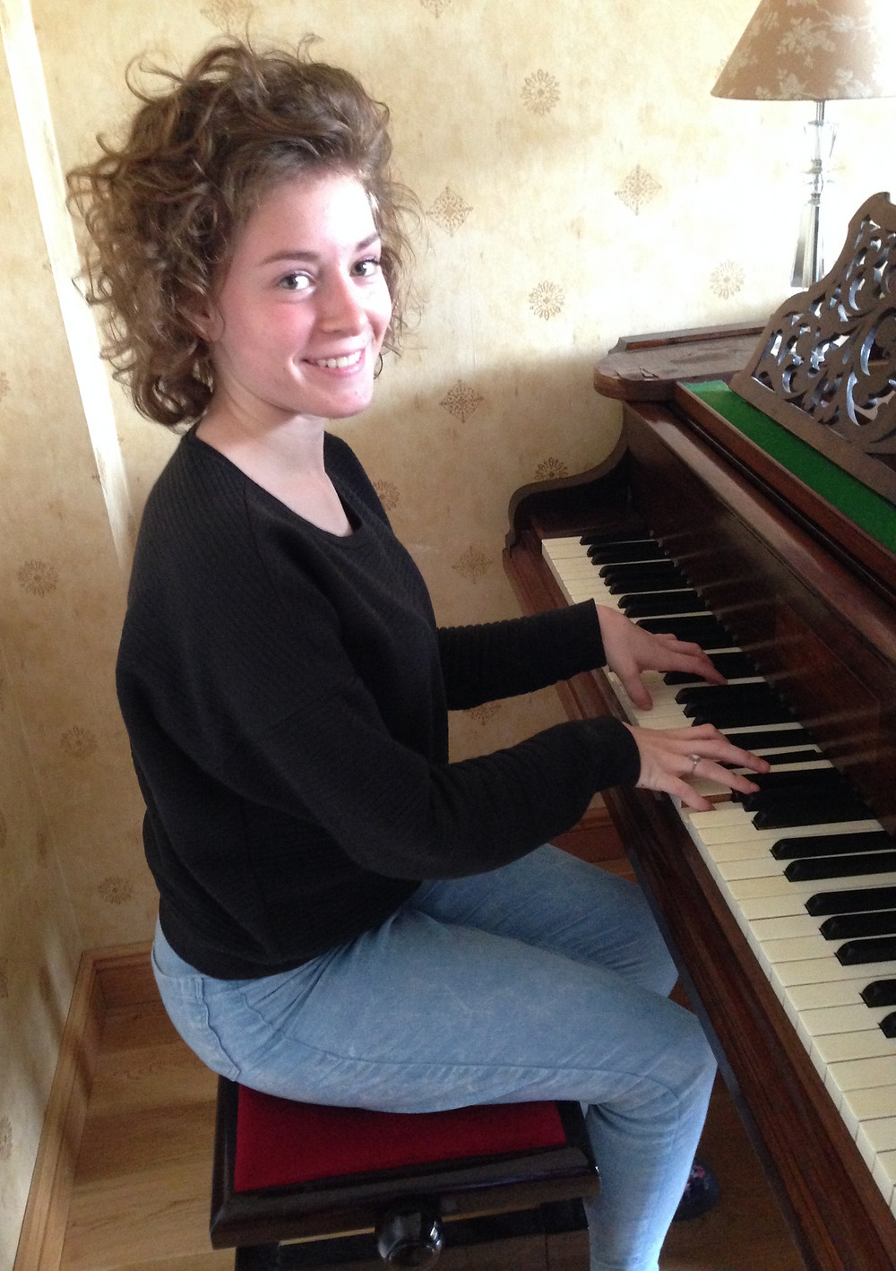 Lucy - Piano Student of the Month