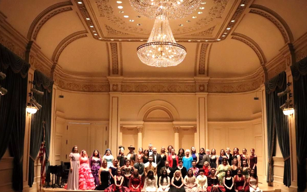 A Night of Opera at Carnegie Hall with the New York Lyric Opera.