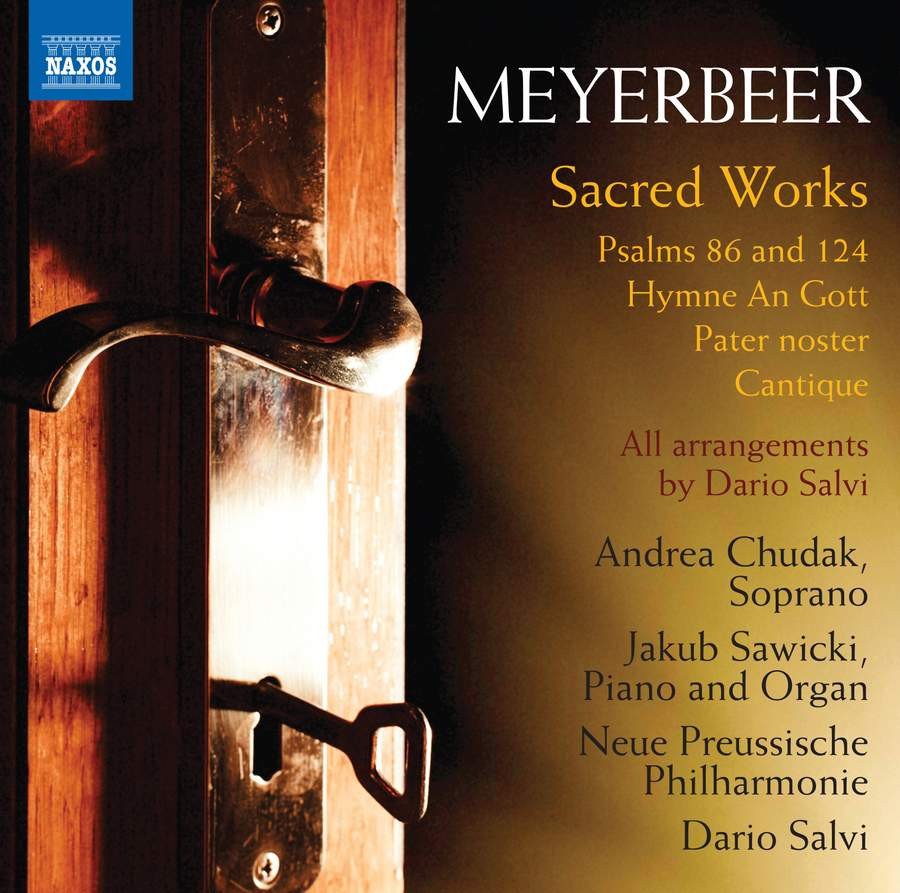 Meyerbeer Sacred Works CD cover