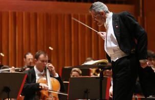 Dario Salvi conducting the Zagreb Philharmonic Orchestra for the final concert of the 2018/19 Season.  Photo credit: Marko Pletikosa