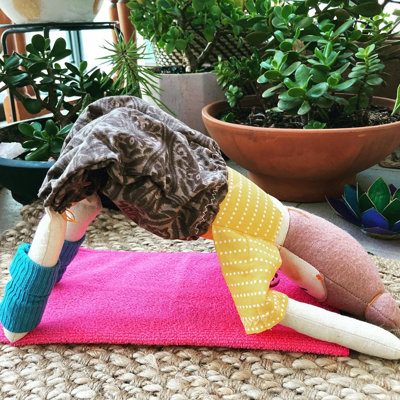 Little Yogis Hollie the Yoga Dolly