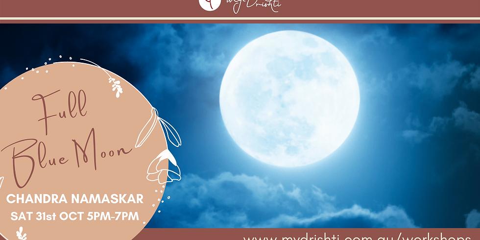 Full Blue Moon: Chandra Namaskar & Meditation