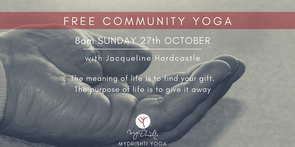 Free Community Yoga - Woolloongabba