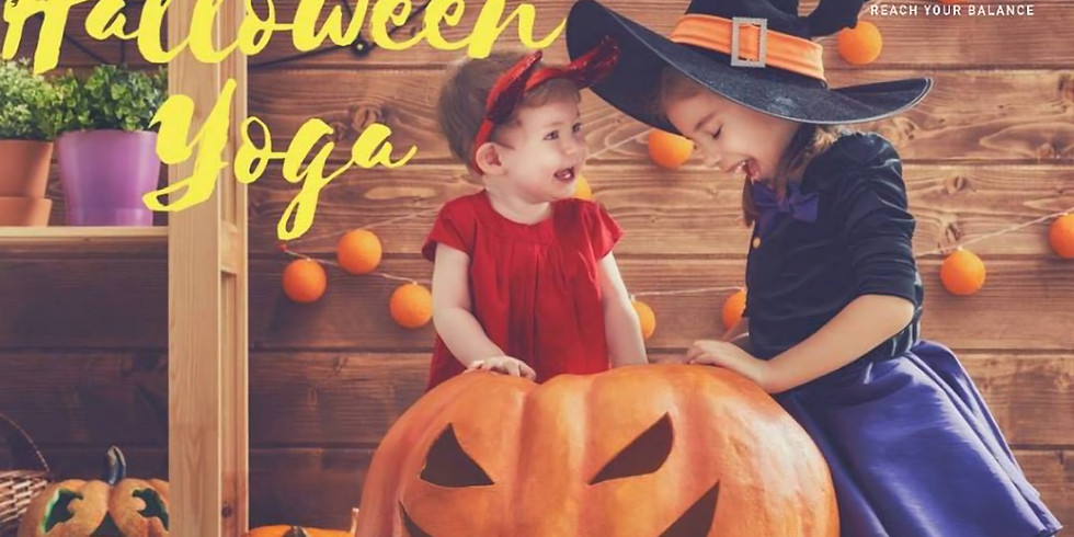 Kids Halloween Yoga Adventure