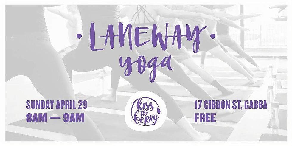 Free Community Class - Laneway Yoga