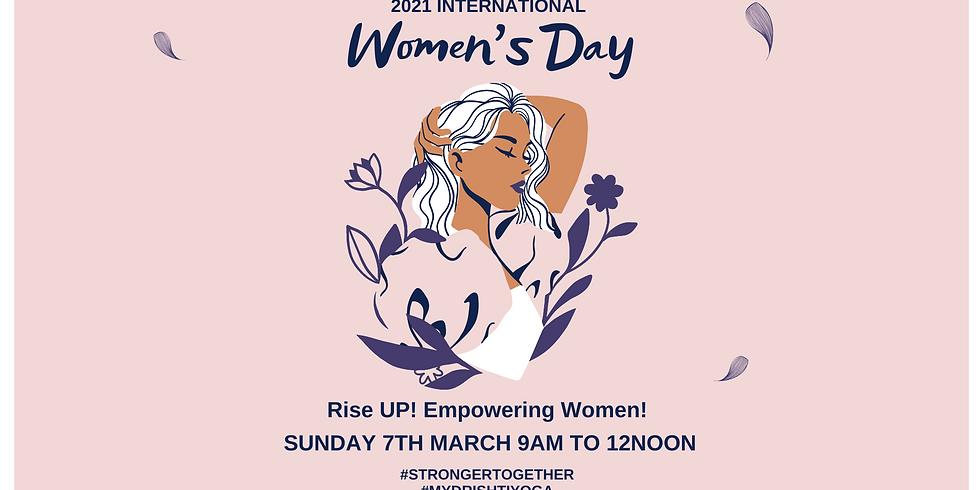 International Women's Day Event - Empowering Women - Rise UP!