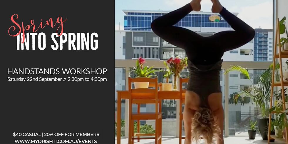 Spring into Spring - Handstands Workshop