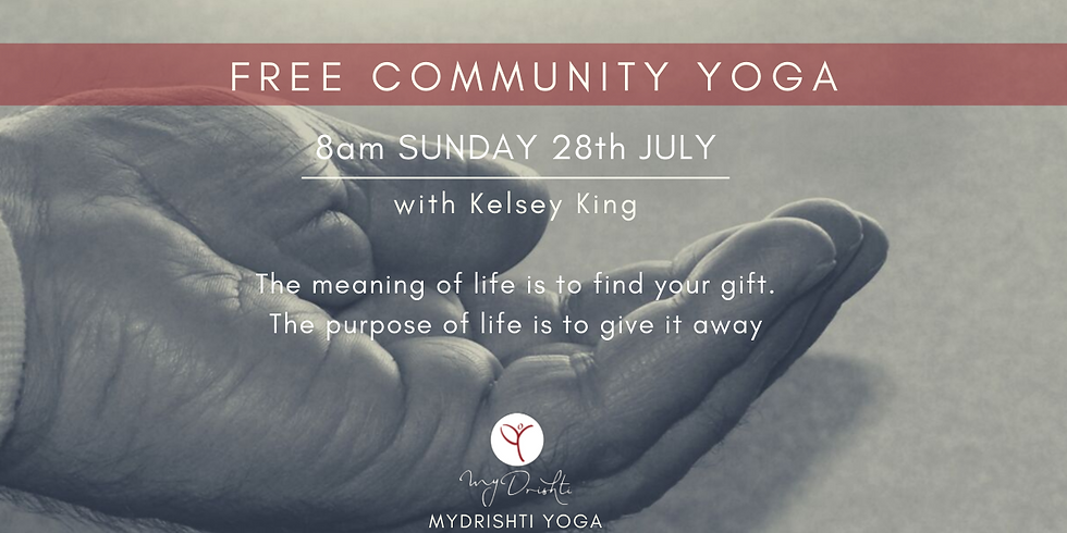 Free Community Yoga - JULY