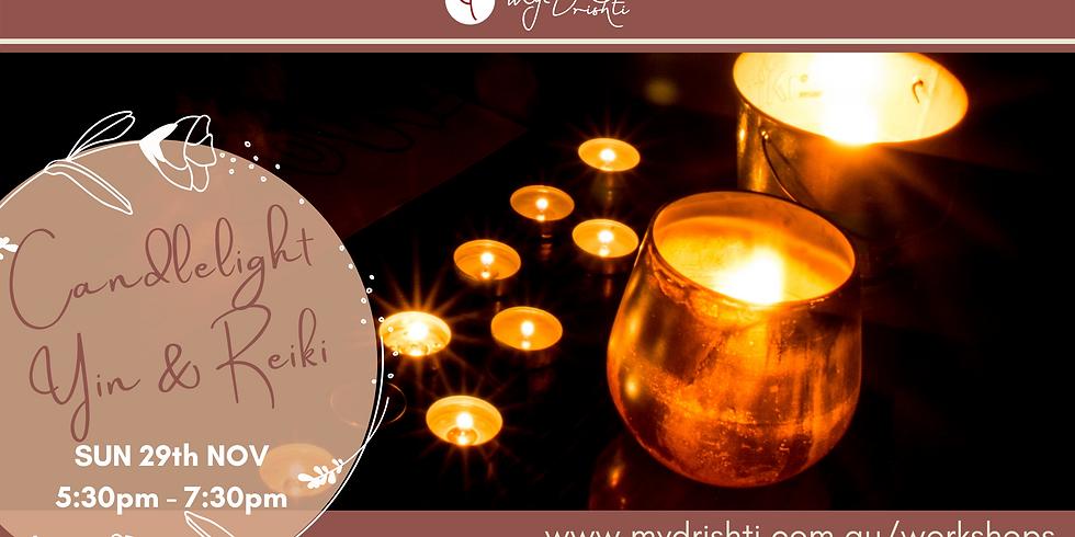 Lunar Eclipse: Candlelight Yin & Reiki Healing Masterclass
