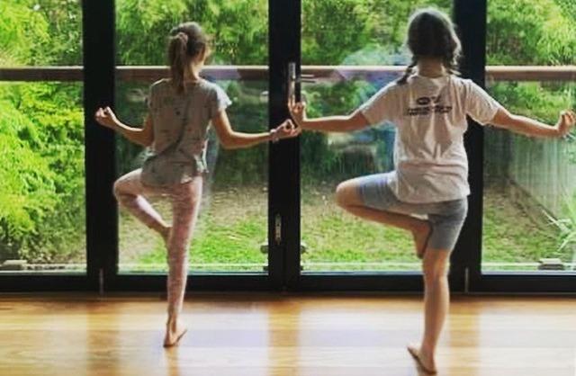 Kids Yoga Tree