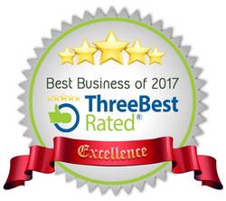 three best award