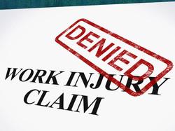 injured claim denied art