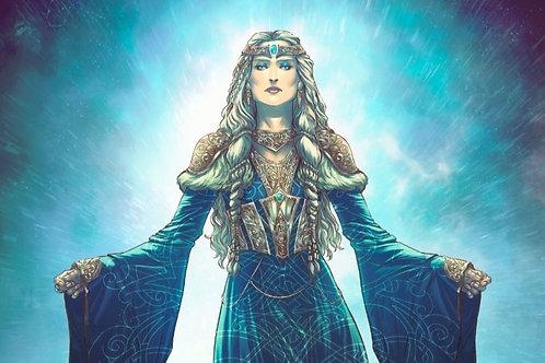 """Урок РМ """"Призыв богини Фригг"""". Автор Карина Таро (Кузьма)"""