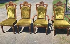 Sage Sweetheart Chairs