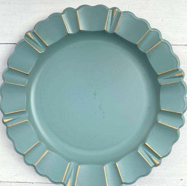 Light Blue Charger Plates