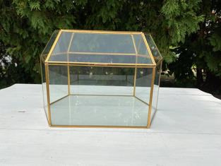 Candice Large Glass Card Box