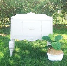 Heather White Sideboard
