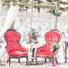 Ruby Sweetheart Chairs