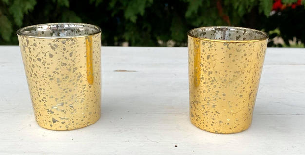 Gold Speckled Votives