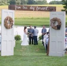 Ceremony Entrance Doors