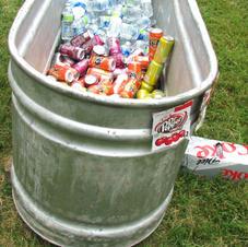 Large Galvanized Tubs