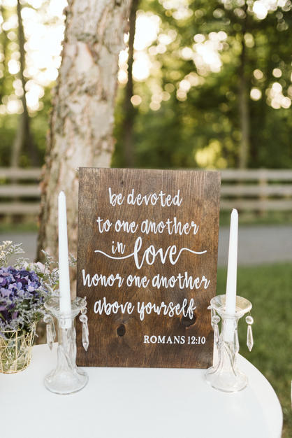 Be Devoted in Love Sign