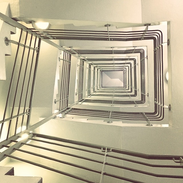 Stairs - Looking Up