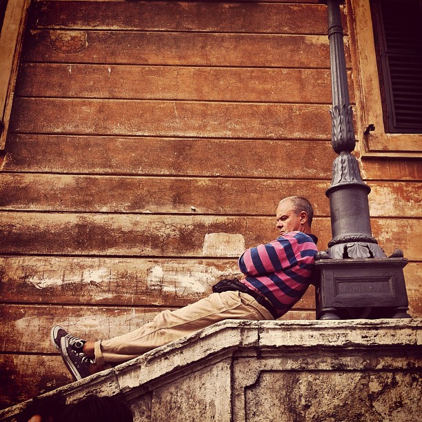 Instagram - Lost love at the spanish steps?