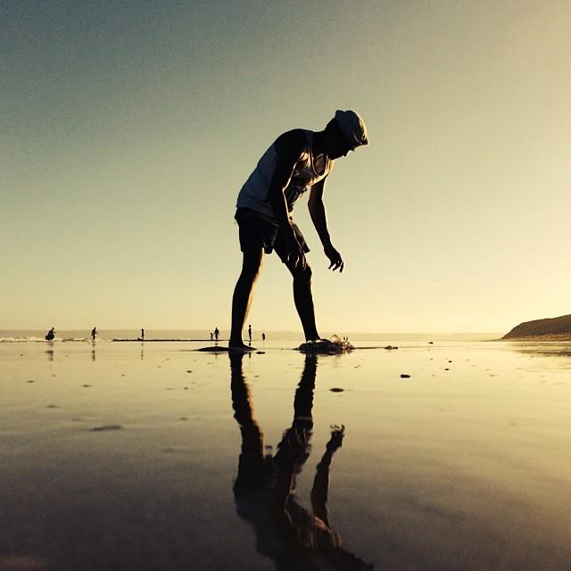 Instagram - Man with jellyfish