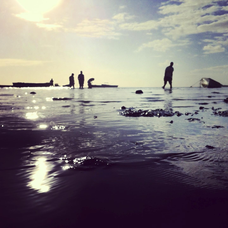 Fishermen return
