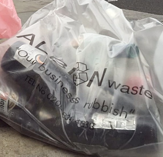 Dry Mixed Recycling Clear Bags