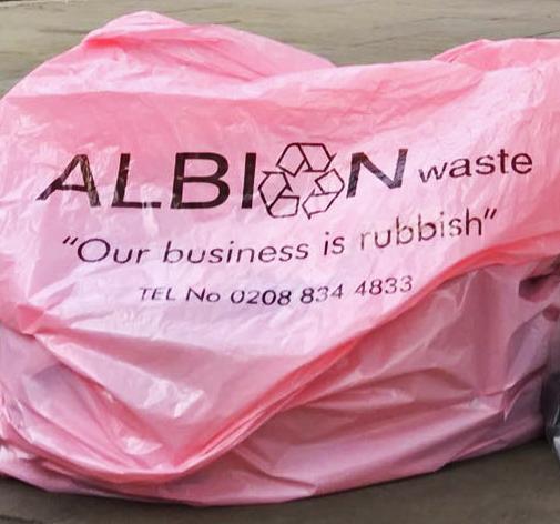 General Waste Pink Bags