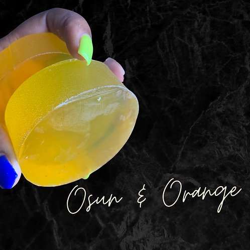 Vibrant Osun & Orange Soap